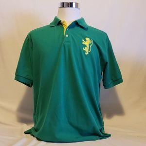 Franky Max 2XL mens green Short Sleeve Polo shirt